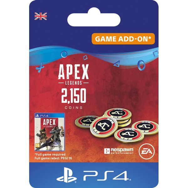 Apex Legends™ – 2,150 Apex Coins - PS4 (Digital Download)