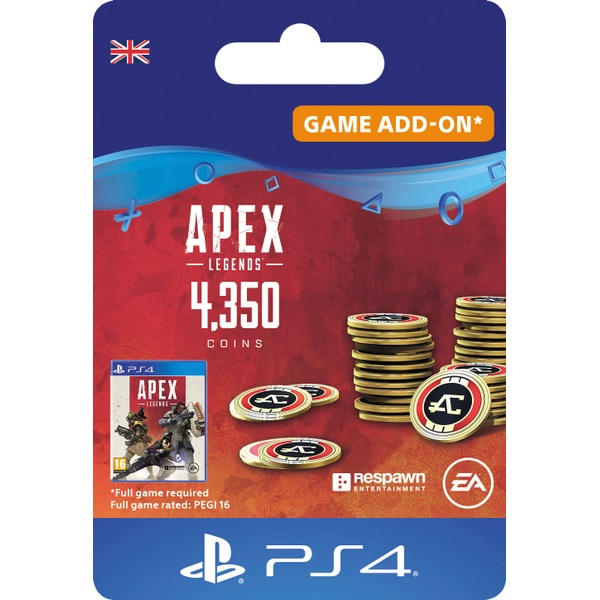 Apex Legends™ – 4,350 Apex Coins - PS4 (Digital Download)