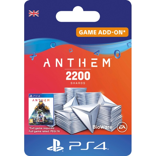 Anthem™ 2200 Shards Pack - PS4 - (Digital Download)