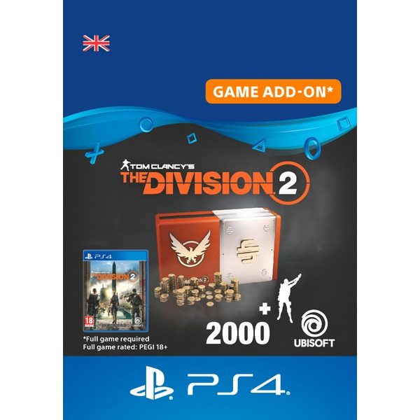 Tom Clancy's The Division 2 – Welcome Pack - PS4 (Digital Download)