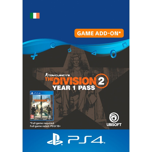 Tom Clancy's The Division® 2 - Year 1 Pass PS4 (Digital Download)
