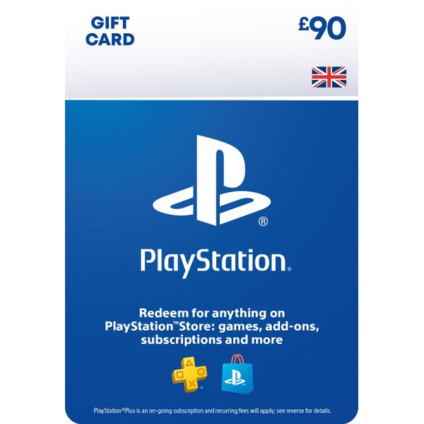 PlayStation® Wallet Top-up: £90.00 GBP