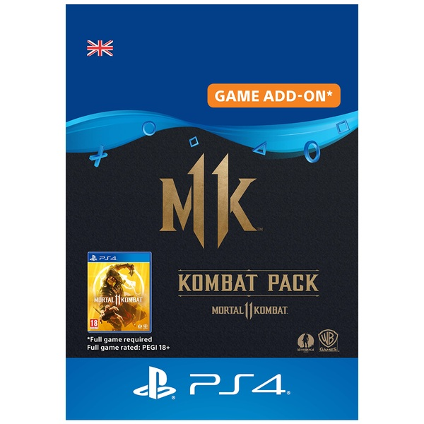 Mortal Kombat 11 Kombat Pack PS4 (Digital Download)