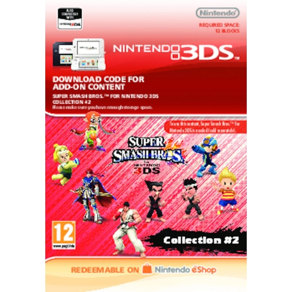 Super Smash Bros: AOC Bundle Collection 2 - Nintendo 3DS (Digital Download)