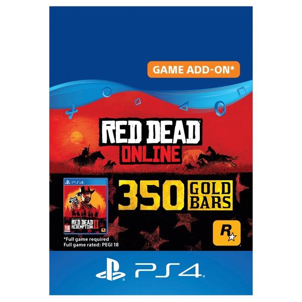 Red Dead Redemption 2: 350 Gold Bars - PS4 (Digital Download)