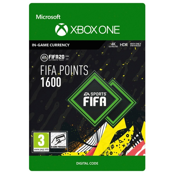 FIFA 20 Ultimate Team FIFA Points 1600 - Xbox One (Digital Download)