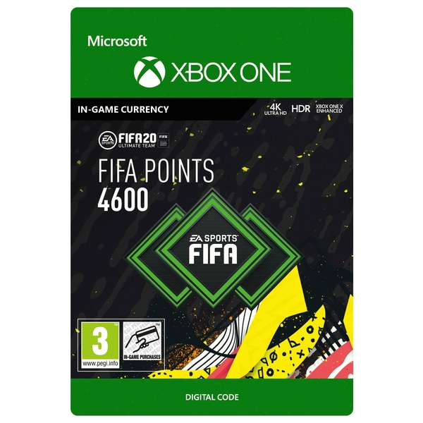 FIFA 20 Ultimate Team FIFA Points 4600 - Xbox One (Digital Download)