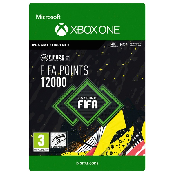 FIFA 20 Ultimate Team FIFA Points 12000 - Xbox One (Digital Download)