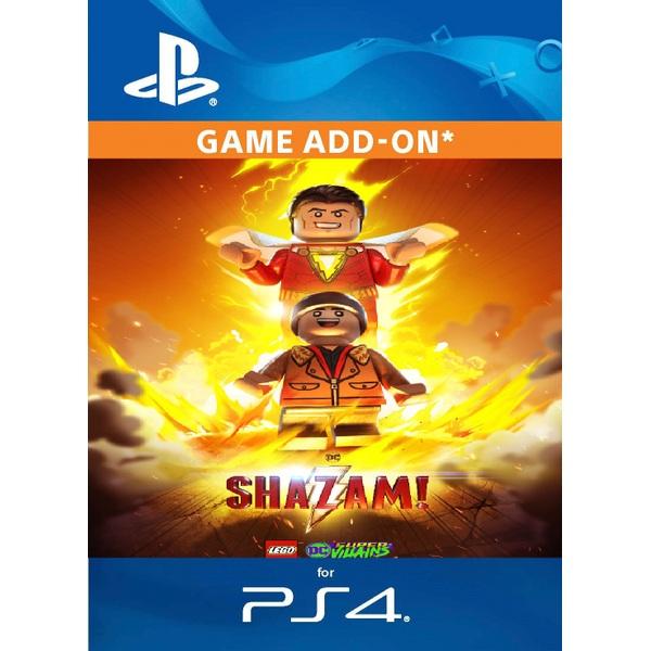 Shazam! DLC For LEGO DC Super Villains PS4 (Digital Download) - PlayStation  4 Games & Games Add-Ons UK