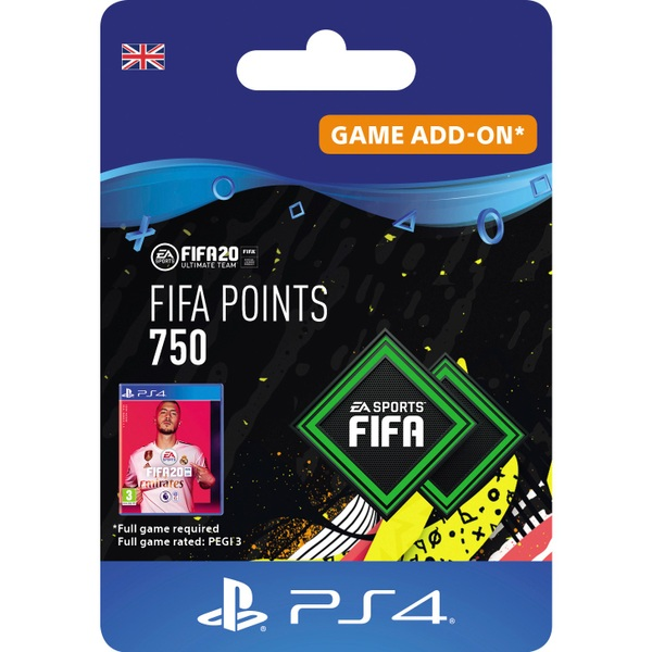 FIFA 20 Ultimate Team FIFA Points 750 - PS4 (Digital Download)