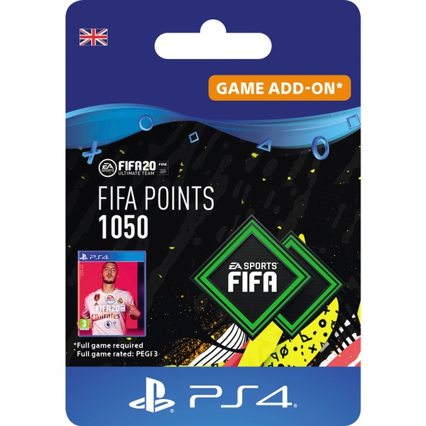 FIFA 20 Ultimate Team FIFA Points 1050 - PS4 (Digital Download)