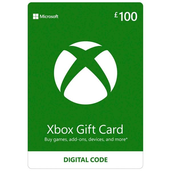 Xbox £100 Wallet Top Up Digital Download