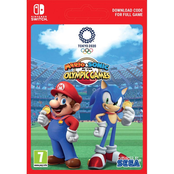 Mario & Sonic at the Olympic Games Tokyo 2020 - Nintendo Switch (Digital Download)