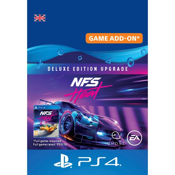 Need for Speed Heat Deluxe Edition Upgrade PS4 (Digital Download)