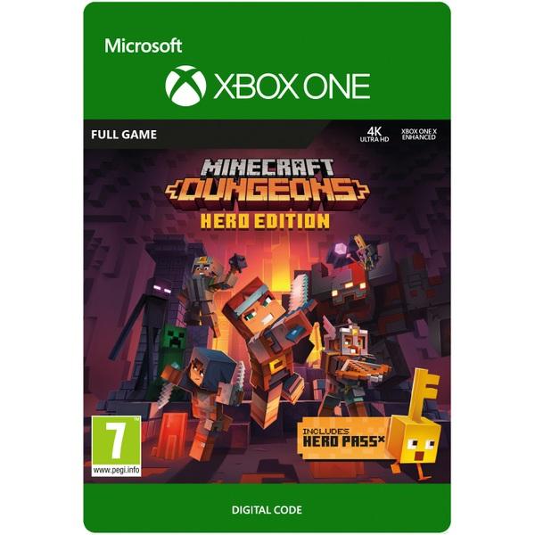 Minecraft Dungeons Hero Edition Xbox One (Digital Download)