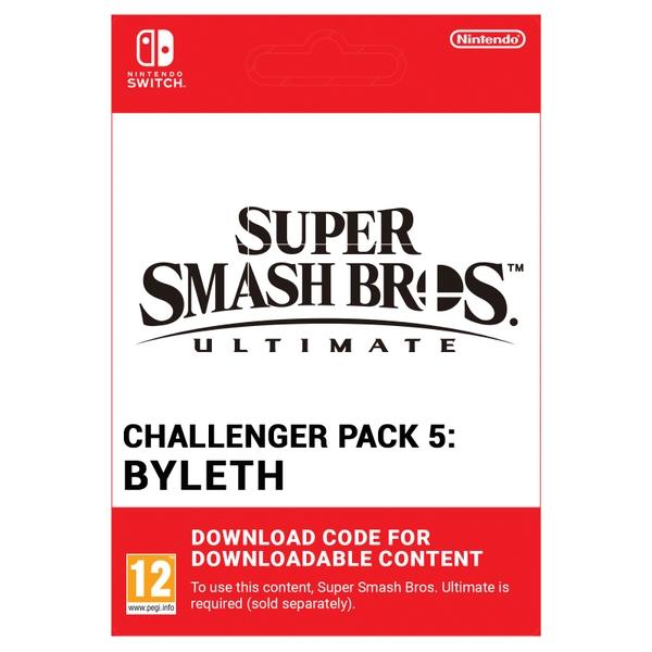 Super Smash Bros. Ultimate - Byleth Challenger Pack 5 - Nintendo Switch (Digital Download)