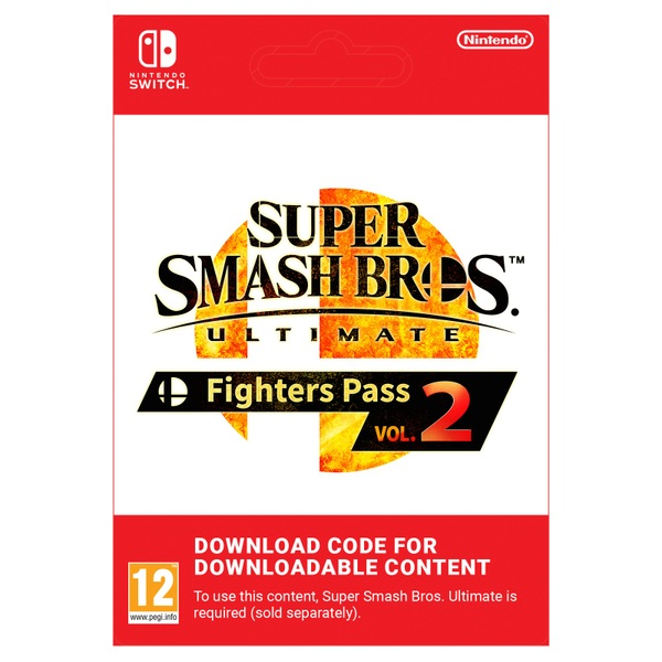 Super Smash Bros. Ultimate: Fighters Pass Vol. 2 - Nintendo Switch (Digital Download)