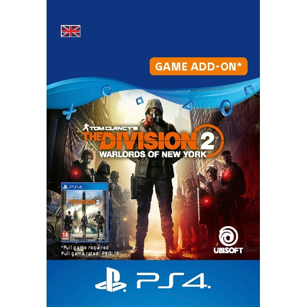 Tom Clancy's The Division 2 - Warlords of New York - Expansion PS4 (Digital Download)