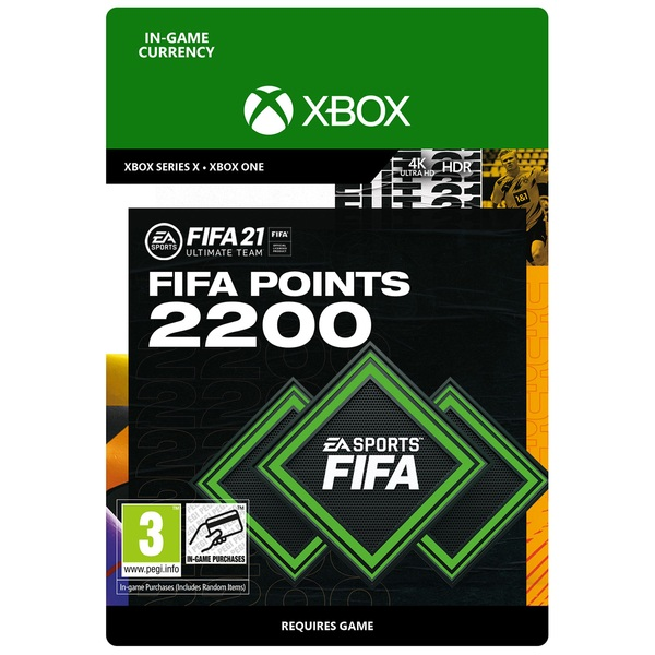 FIFA 21 Ultimate Team - 2200 FIFA Points Xbox (Digital Download)