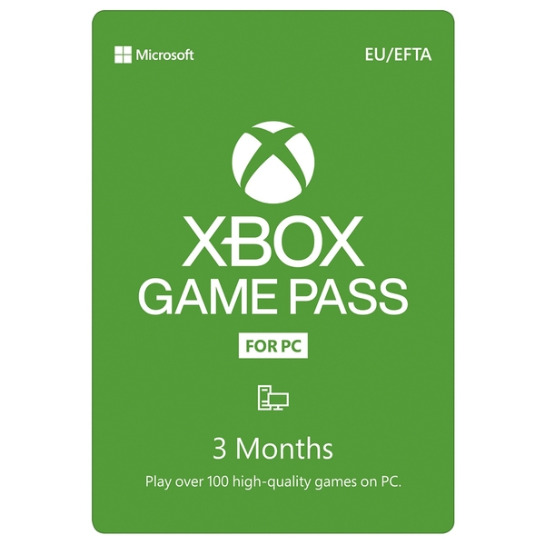 Xbox Game Pass for PC – 3 Month Membership