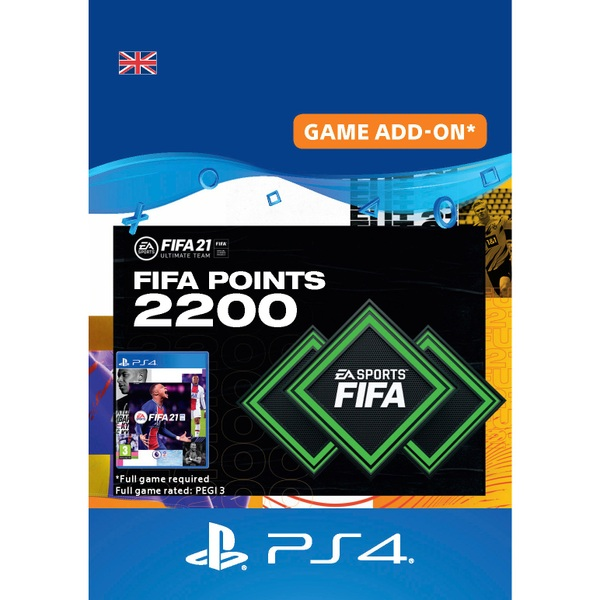 FIFA 21 Ultimate Team - 2200 FIFA Points PlayStation (Digital Download)