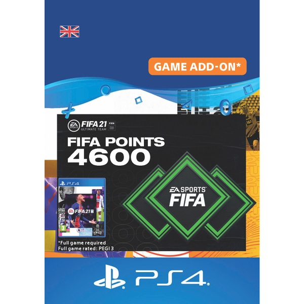 FIFA 21 Ultimate Team - 4600 FIFA Points PlayStation (Digital Download)