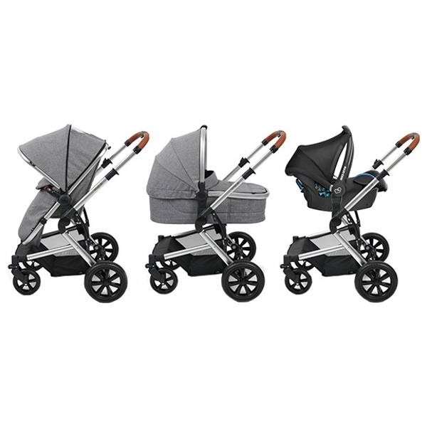 Babylo Vogue Travel System & Car Seat Bundle
