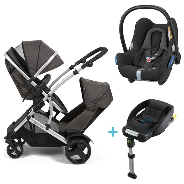 Babylo Duo X2 Travel System, Car Seat and Base