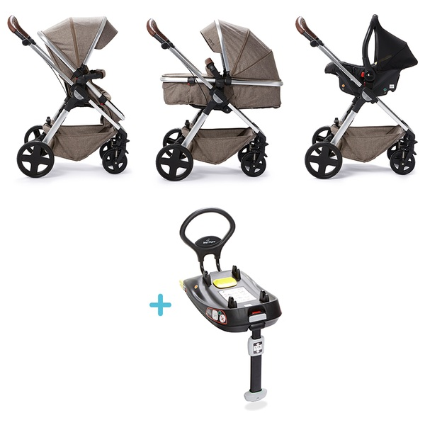 Baby Elegance Coffee Venti Travel System, Car Seat and Base