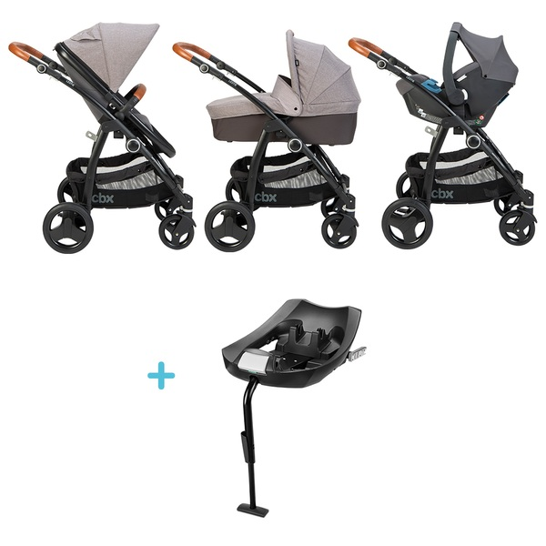 CBX Leotie Lux Travel System, Car Seat and Base