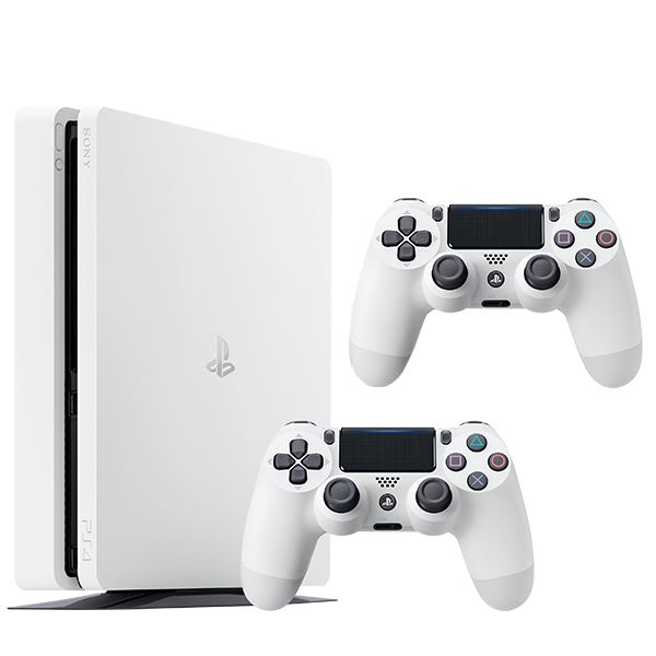 PS4 500GB White Console & Extra Controller