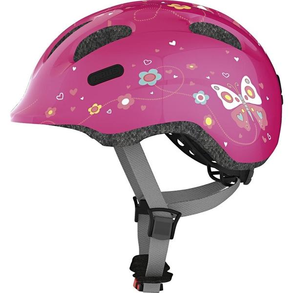 abus fahrradhelm smiley 2 0 gr s pink butterfly. Black Bedroom Furniture Sets. Home Design Ideas