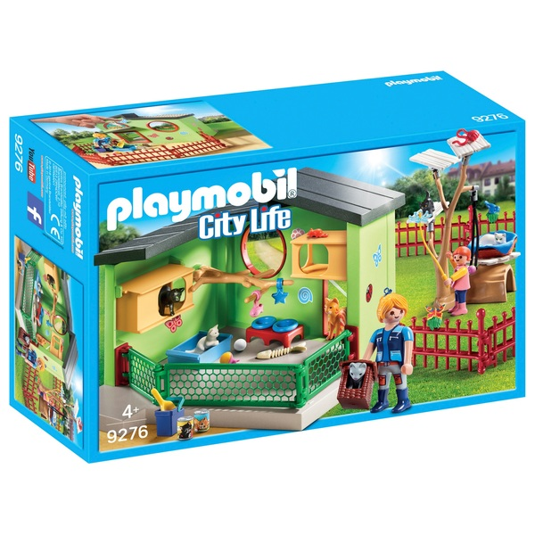 Playmobil 9276 City Life Purrfect Stay Cat Boarding