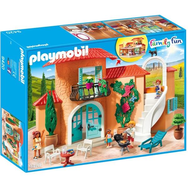 Playmobil 9420 Family Fun Summer Villa with Balcony