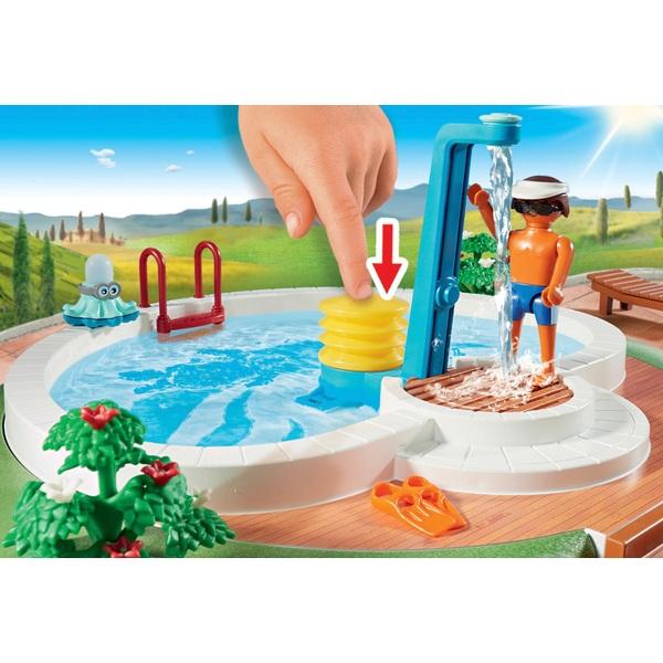 Playmobil 9422 family fun swimming pool playmobil ireland - Playmobil swimming pool best price ...