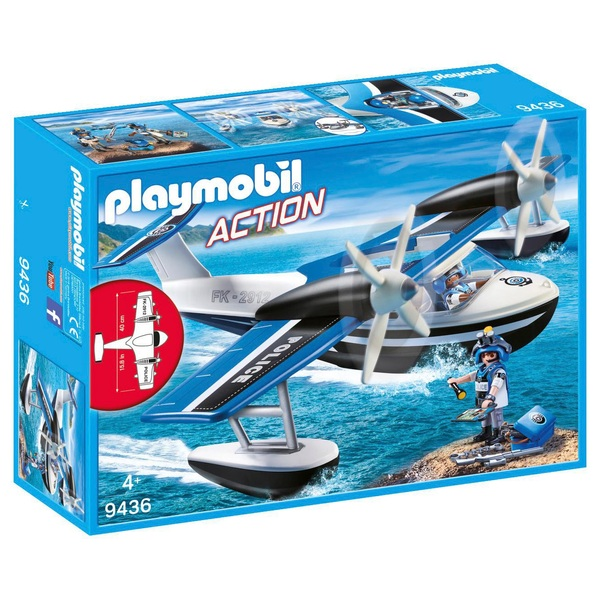 Playmobil 9436 Action Floating Police Seaplane