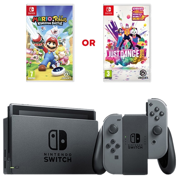Nintendo Switch Grey & One Select Game