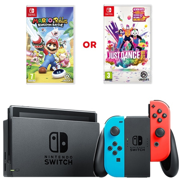 Nintendo Switch Neon & One Select Game