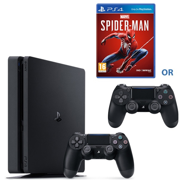 PS4 1TB Console & Select Game or Extra Controller