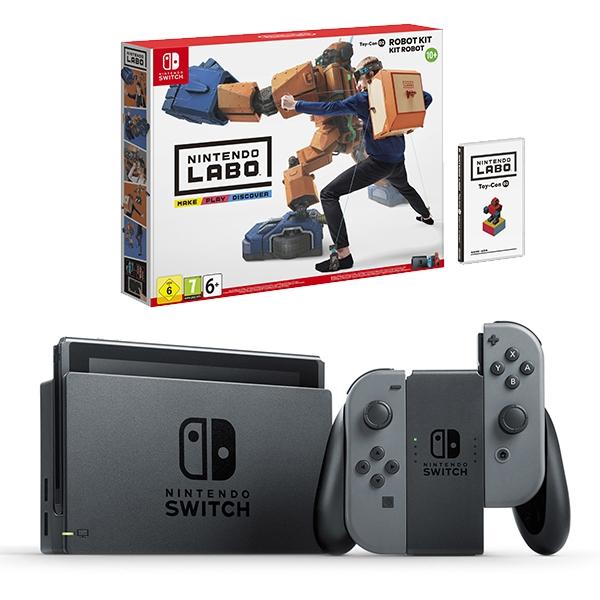 Nintendo Switch Grey & LABO Robot Kit