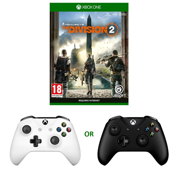 Tom Clancy's The Division 2 & Xbox One Controller