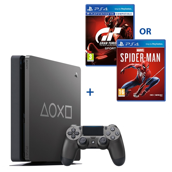 PS4 1TB Limited Edition Console with Select Game