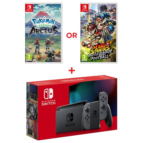Nintendo Switch Grey Console & Select Game