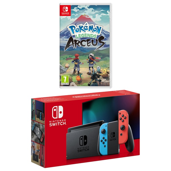 Nintendo Switch Neon Console Select Game Smyths Toys Ireland