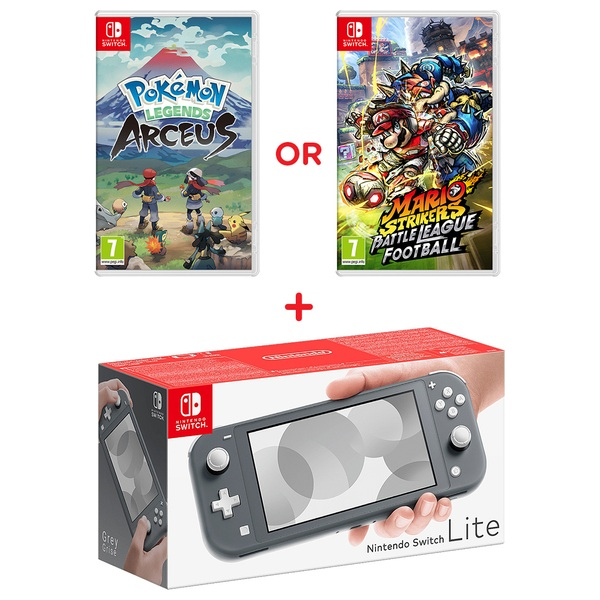 Nintendo Switch Lite Grey Select Game Smyths Toys Ireland