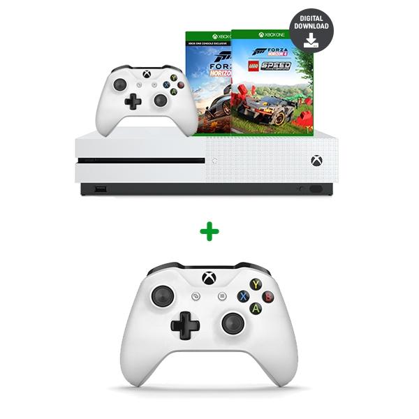 Xbox One S 1tb Forza Lego Bundle Extra Controller Xbox One Console Bundle Deals Smyths Toys Uk