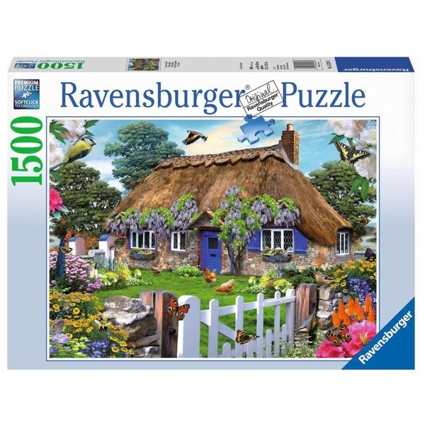 Ausgefallenkreatives - Ravensburger Puzzle Cottage Howard Robinson, 1500 Teile - Onlineshop Smyths Toys