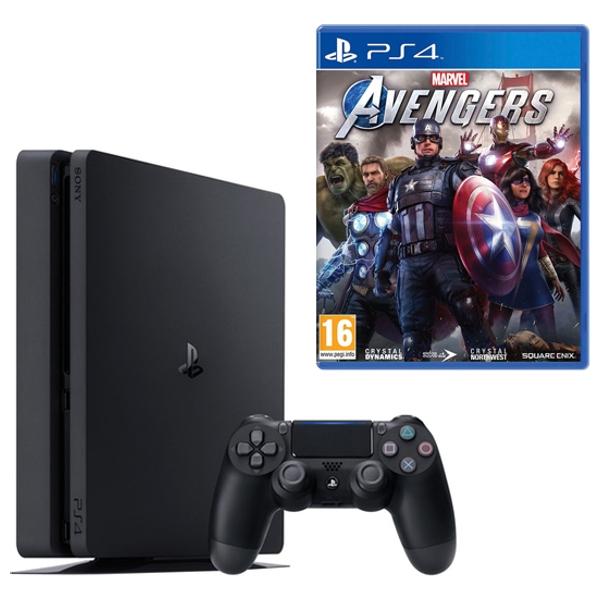 PS4 500GB & Marvel's Avengers