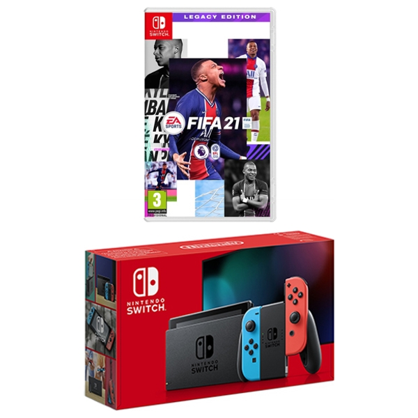Nintendo Switch Neon & FIFA 21