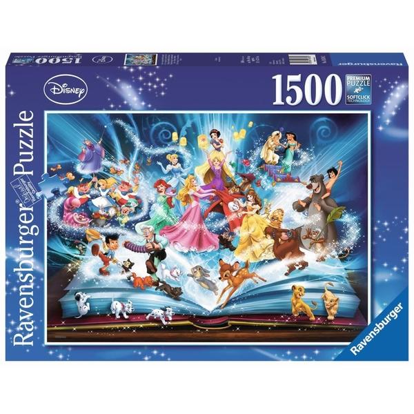 Ausgefallenkreatives - Ravensburger Puzzle Disneys magisches Märchenbuch, 1500 Teile - Onlineshop Smyths Toys